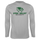 Performance Platinum Longsleeve Shirt-Utah Valley University