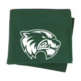 Dark Green Sweatshirt Blanket-Primary Logo