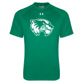 Under Armour Kelly Green Tech Tee-Primary Logo