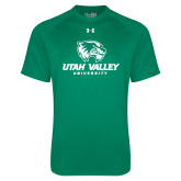 Under Armour Kelly Green Tech Tee-Utah Valley University