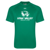 Under Armour Kelly Green Tech Tee-Wrestling