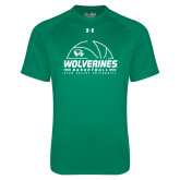 Under Armour Kelly Green Tech Tee-UVU Basketball