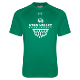 Under Armour Kelly Green Tech Tee-Wolverines Basketball