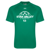 Under Armour Kelly Green Tech Tee-Wolverines Soccer