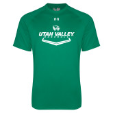 Under Armour Kelly Green Tech Tee-Wolverines Baseball