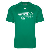 Under Armour Kelly Green Tech Tee-Wolverine Volleyball