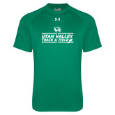 Under Armour Kelly Green Tech Tee-Wolverines Track & Field