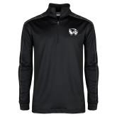 Nike Golf Dri Fit 1/2 Zip Black/Grey Pullover-Primary Logo
