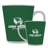 Full Color Latte Mug 12oz-Utah Valley University