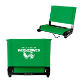 Stadium Chair Kelly Green-Secondary Logo