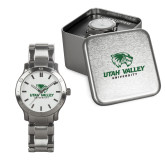 Mens Stainless Steel Fashion Watch-Utah Valley University