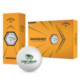 Callaway Warbird Golf Balls 12/pkg-Utah Valley University