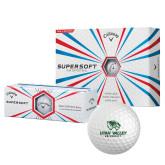 Callaway Supersoft Golf Balls 12/pkg-Utah Valley University