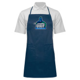 Full Length Navy Apron-UWF Argonauts