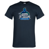 Navy T Shirt-West Florida Argonauts