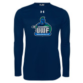 Under Armour Navy Long Sleeve Tech Tee-UWF Argonauts