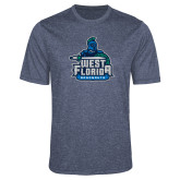 Performance Navy Heather Contender Tee-West Florida Argonauts