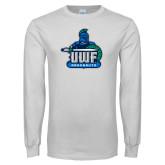 White Long Sleeve T Shirt-UWF Argonauts