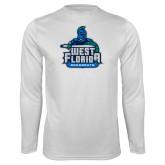 Syntrel Performance White Longsleeve Shirt-West Florida Argonauts