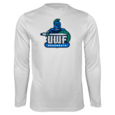 Performance White Longsleeve Shirt-UWF Argonauts