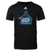 Adidas Black Logo T Shirt-UWF Argonauts