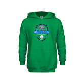 Youth Kelly Green Fleece Hoodie-2017 Volleyball Champions