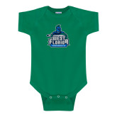 Kelly Green Infant Onesie-West Florida Argonauts