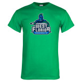 Kelly Green T Shirt-West Florida Argonauts