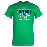 Kelly Green T Shirt-NCAA Division II National Champions 2017 Mens Tennis