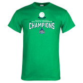Kelly Green T Shirt-2018 South Conference Mens Basketball Champions