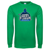 Kelly Green Long Sleeve T Shirt-West Florida Argonauts