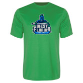 Performance Kelly Green Tee-West Florida Argonauts