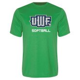 Performance Kelly Green Tee-Softball