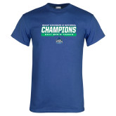 Royal T Shirt-NCAA Division II National Champions 2017 Mens Tennis