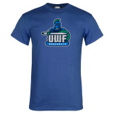 Royal T Shirt-UWF Argonauts