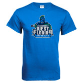 Royal T Shirt-West Florida Argonauts, Custom Tee w/ Name and #