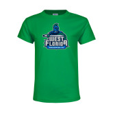 Youth Kelly Green T Shirt-West Florida Argonauts