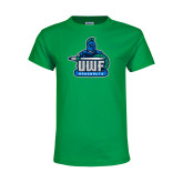 Youth Kelly Green T Shirt-UWF Argonauts