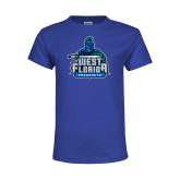 Youth Royal T Shirt-West Florida Argonauts