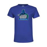 Youth Royal T Shirt-UWF Argonauts