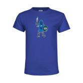Youth Royal T Shirt-Youth Mark