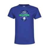 Youth Royal T Shirt-2017 Volleyball Champions