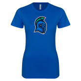 Next Level Ladies SoftStyle Junior Fitted Royal Tee-Argonaut Head