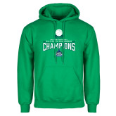 Kelly Green Fleece Hoodie-2018 South Conference Mens Basketball Champions
