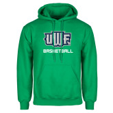 Kelly Green Fleece Hoodie-Basketball