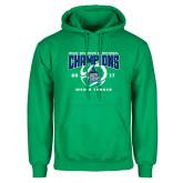 Kelly Green Fleece Hoodie-NCAA Division II National Champions 2017 Mens Tennis