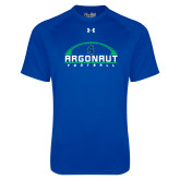 Under Armour Royal Tech Tee-Football Design