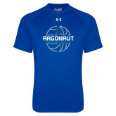 Under Armour Royal Tech Tee-Basketball Design