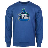 Royal Fleece Crew-West Florida Argonauts