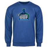 Royal Fleece Crew-UWF Argonauts
